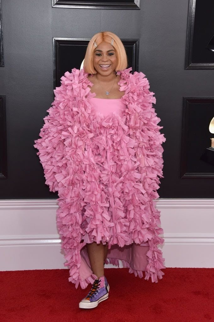 tayla parx attends the 61st annual grammy awards at staples news photo 1097510326 15498426072116343650 - All Grammys 2019 Red Carpet Celebrity Dresses & Looks (Photos)