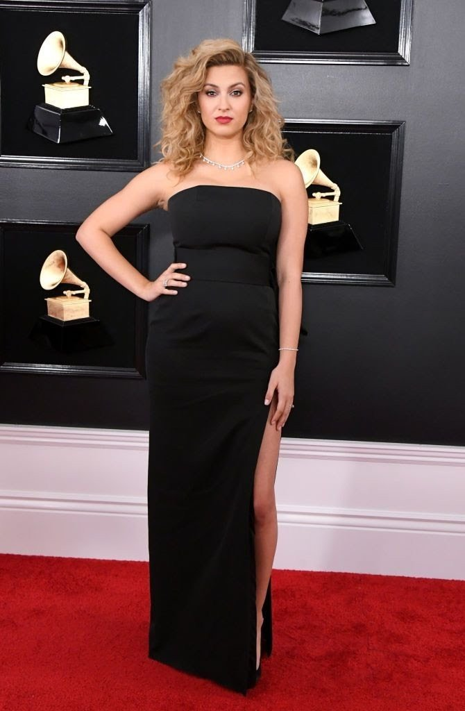 tori-kelly-attends-the-61st-annual-grammy-awards-at-staples-news-photo-1128744219-1549839757363674781 All Grammys 2019 Red Carpet Celebrity Dresses & Looks (Photos)