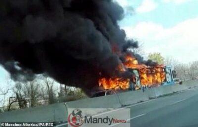 11271538 6834559 Smoke  m 9 1553170638049 - Senegalese Driver Hijacks School Bus With 49 Kids, 2 Teachers And Sets It Ablaze