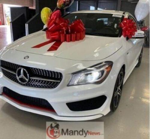 5c9c785c64501 Bobrisky Buys A Brand New 2016 Mercedez Benz AMG (Photos)