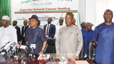 8926334 pdp640x360 jpeg11b19d965682f9ec4180bf2a22acd9e3 - Protests In Abuja Over Issuance Of Certificate Of Return To Buhari