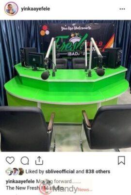 9039490 screenshot20190323210841 jpeg403af601af2b45ca0dd8f4bdbe8cb037 - Yinka Ayefele Exhibits Off Inside Of His Newly Constructed Recent FM Studio