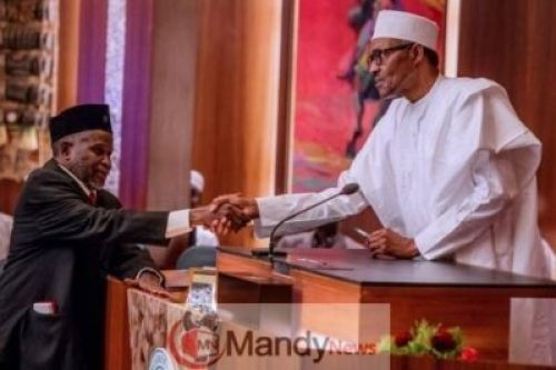 D17WF2hXQAAL5jF I Wasn't Aware Onnoghen Was Suspended Before I Was Sworn In, Says Muhammad