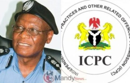 Ex-IGP-Ehindero-and-ICPC Ex-IGP Ehindero Received 10% Interest On Police Funds — ICPC