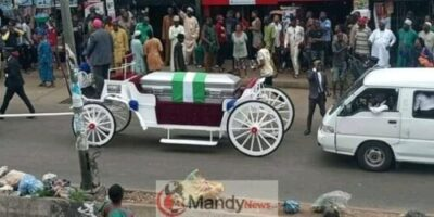 FB IMG 15533877523053503 - Benin Stood Nonetheless For The Grand Burial Of Iyayi Efianayi   (Pictures)