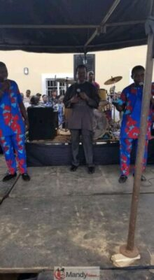 FB IMG 15533878334800676 - Benin Stood Nonetheless For The Grand Burial Of Iyayi Efianayi   (Pictures)