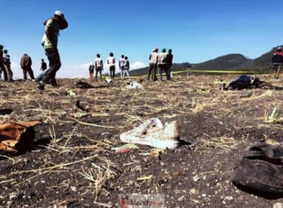 IMG 20190310 210737 371 - Crash site Of Ethiopian Airlines That Killed 157 People (Photos)