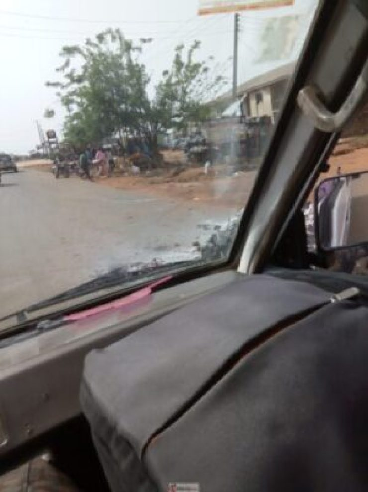 IMG_20190318_154511 Youths Set PHCN Office Ablaze In Osun Over Blackout (Photos)