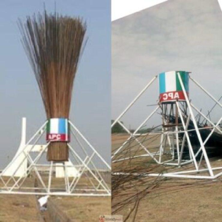 InShot_20190314_202717831 APC Giant Broom Abuja: Before And Now (Photos)