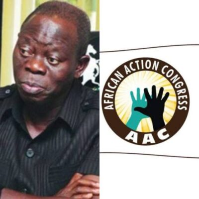 InShot 20190331 183725124 - We Are Not In Any Coalition With AAC In Rivers State - Oshiomhole
