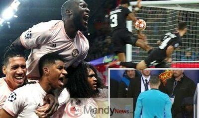Man Utd penalty VAR PSG Champions League Rashford 1096652 - Man Utd Penalty: The Stunning Pictures That PROVE VAR Was Correct
