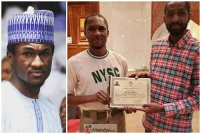 Nigerians react after Yusuf Buhari received NYSC certificate at home 1024x683 - Yusuf Buhari Beneath Assault Over NYSC