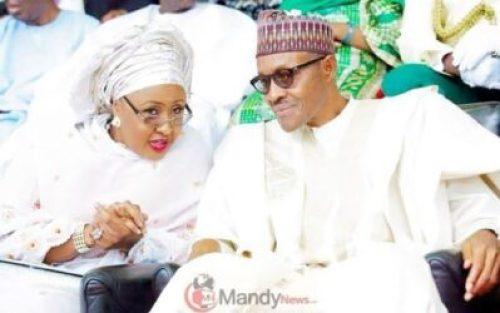 """President-Muhammadu-Buhari-and-his-wife-Aisha-750x470 """"I Wish My Husband's Cabinet Will Have 41.6% Women"""" - Aisha Buhari (Video)"""