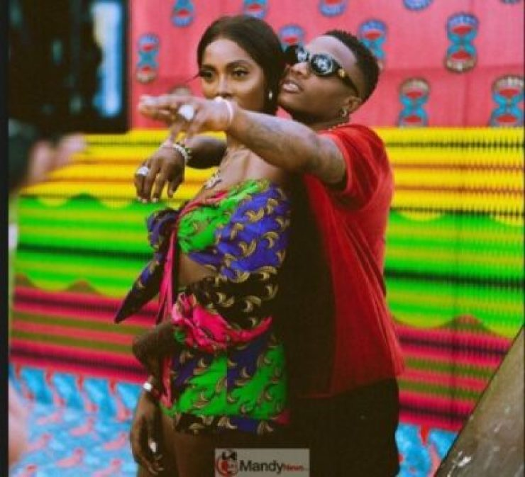 Tiwa-Savage-and-Wizkid Tiwa Savage Deletes All Instagram Pictures, Fans Wonder Why!