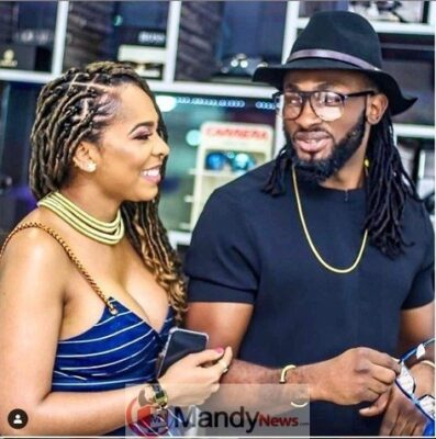 Uti Nwachukwu and TBoss - Uti Nwachukwu Reacts To Tboss Being Pregnant For Him