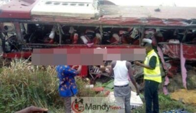VVIP bus crash on Tamale 2 - Over 70 Individuals Useless In A VVIP Bus Crash In Tamale, Ghana (Images)