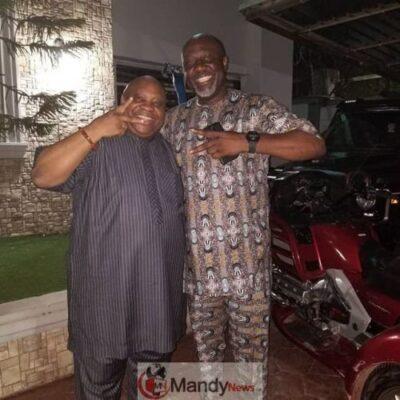dino vs adeleke - Dancing Vs Singing Senators: Ademola Adeleke Visits Dino Melaye (Photos)