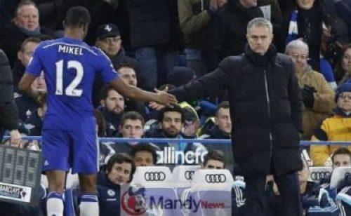 mikkel-and-mourihno 'Jose Mourinho Killed Me' - Mikel Obi