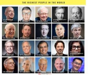 The Richest People In The World For 2019