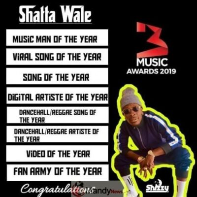 wale2 - Shatta Wale BAGS 8-Awards Out Of 11 Nominations At 3Music Awards