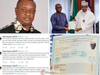 Buhari waec saga 1024x768 - You Do Not Need WAEC To Become President In Nigeria – Festus Keyamo