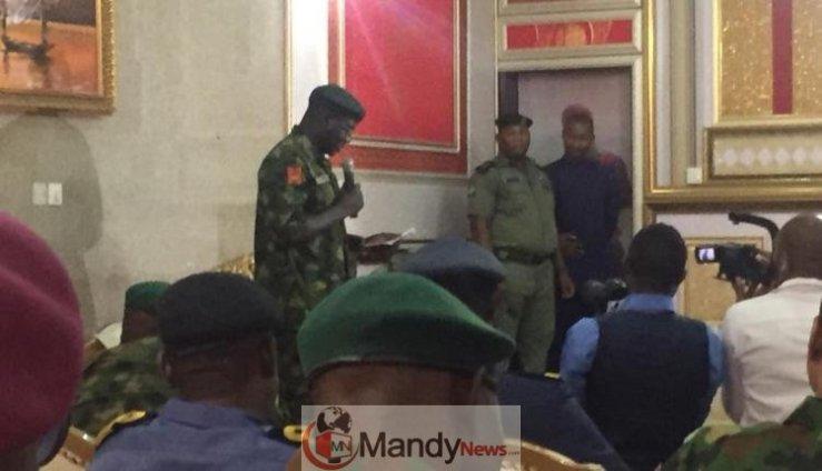 Chief Of Army Staff Lt Gen Tukur Buratai 1 - Chief of Army Staff, Lt Gen Tukur Buratai Pays Visit To Olu Of Warri Palace