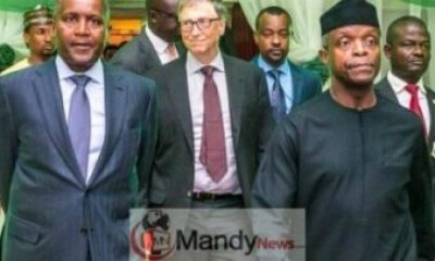 Dangote Bill Gate and Osinbajo