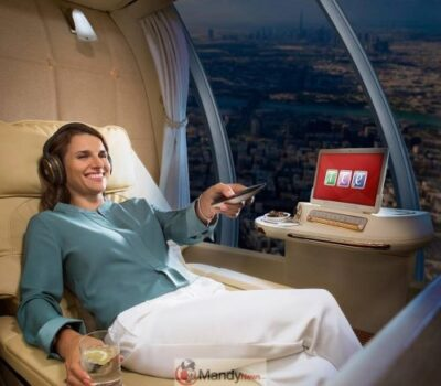 Emirates April Fools 2 - Emirates Introducing Chauffeur-Less Drones With First Class Suites (April Fools)