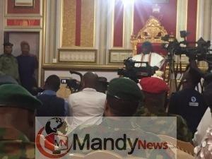 IMG_20190416_142234 Chief of Army Staff, Lt Gen Tukur Buratai Pays Visit To Olu Of Warri Palace