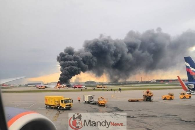 54114822_2119750901407110_9162169384246968320_n 41 Killed After Russian Airplane Catches Fire (Photos,Video)
