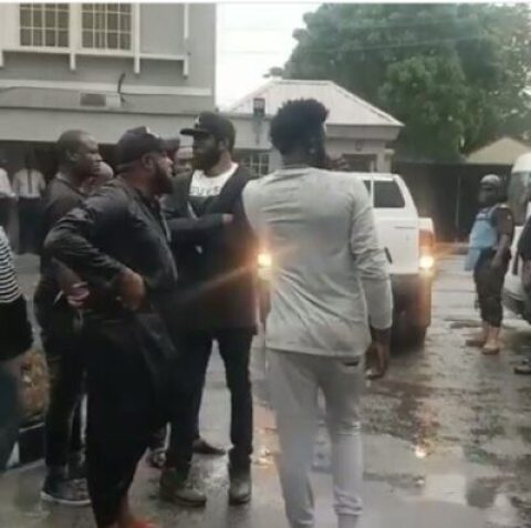 9438337_20190520121801_jpegb0ae2c427c69088b3154dd35648b634e Naira Marley: Davido's Camp, Heavily Armed Policemen Spotted Outside The Court