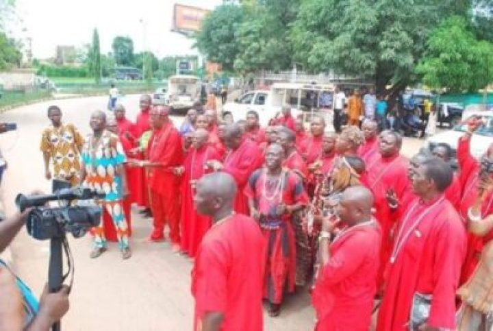 FB_IMG_1558138162151 Benin Traditional Worshippers Embark On Acts Of Purification And Sanctification