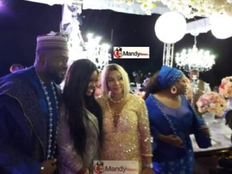 Exclusive Photos From John Dumelo & Gifty's White Wedding