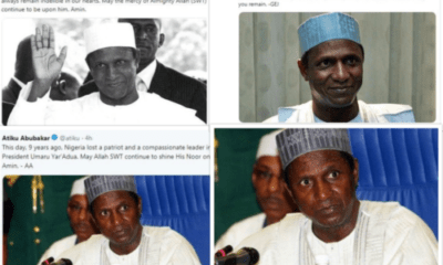 Jonathan, Atiku, Saraki, Others Pay Tribute To Late President Yar'Adua