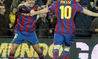 Lionel Messi And Xavi
