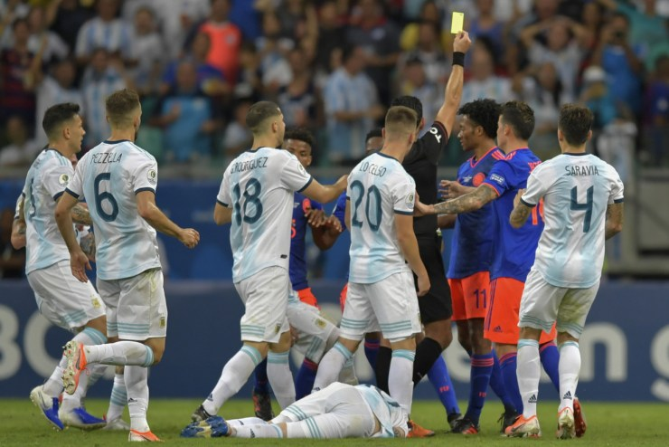 5d05d3fefc7e9334718b45ae Messi & Argentina Suffer Nightmare Copa America Start In Defeat To Colombia