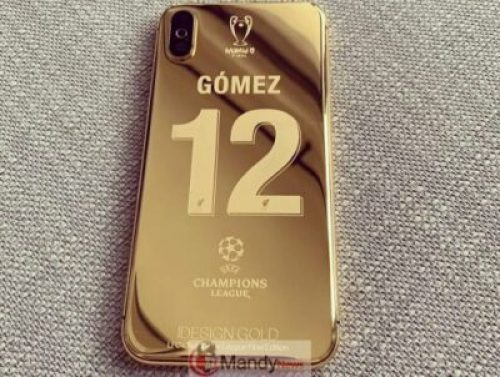 60024596_375705033291414_6023422901720223061_n Liverpool Squad Receive Insane Customised Champions League 24K Gold Plated iPhone X