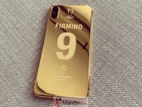 60761238_2364087110541691_3079200884382220951_n Liverpool Squad Receive Insane Customised Champions League 24K Gold Plated iPhone X