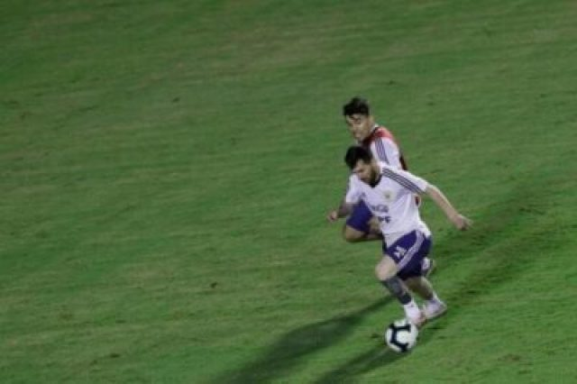 835c18c9b82b4976a7d0ca7d3f006070-835c18c9b82b4976a7d0ca7d3f006070-d48346d0cbbf4fa198e21aaeef8f250b-52d8e Lionel Messi And Argentina Train Before Copa America Opener (Photos, Video)
