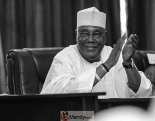 D9IIw3xX4AAdRPX Server Result: Atiku Denies Plan To Lead Protest Against Buhari Government, INEC