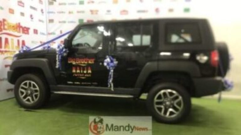 Photos Of The N25M SUV Mercy Got As BBNaija Winner