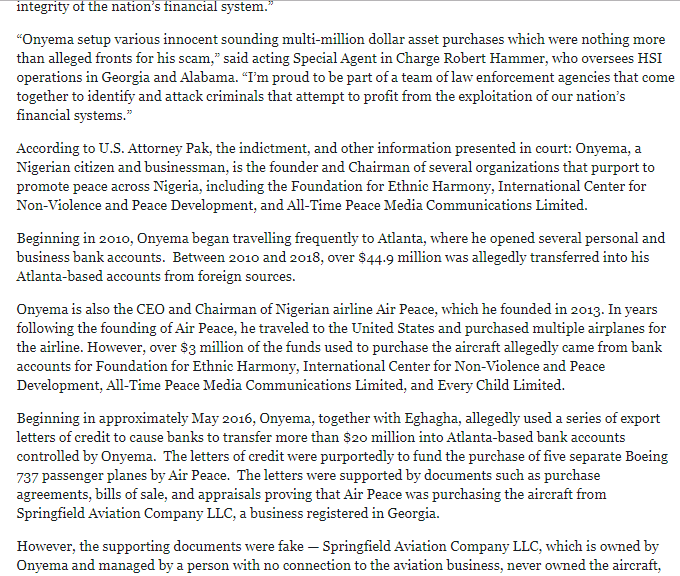 Screenshot_4-1 Allen Onyema, Air Peace CEO Charged In U.S. With fraud & Money Laundering
