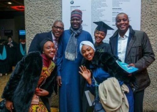 Buhari Daughter, Buhari's Daughter, Hanan, Graduates With A 1st Class From UK University (Photos)