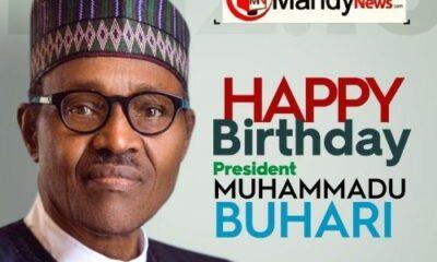 Buhari 77 birthday