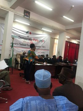 PDP Holds 87th NEC Meeting In Abuja