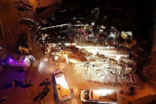 18 Dead, More Than 600 Injured In Turkey Earthquake
