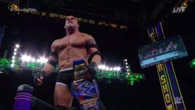 Goldberg Wins WWE Universal Title At Super ShowDown