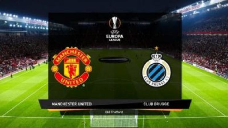 Manchester United vs Club Brugge - Europa League