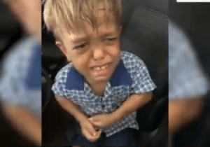 """9-Year Bullied Over His Dwarfism Says """"I wish I Could Stab Myself In My Heart"""" (Video)"""