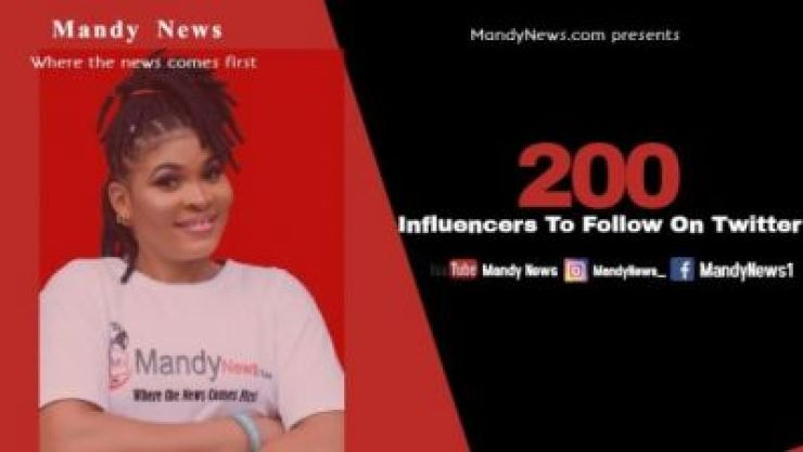 200 Twitter Influencers To Follow In 2020 by MandyNews.com